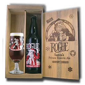 Rogue Santa's Private Reserve Ale returns in glow-in-the-dark bottles
