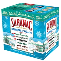 Saranac 12 Beers of Winter Pack