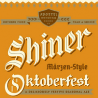 Shiner Oktoberfest label
