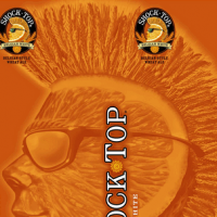 Shock Top Belgian Wheat can