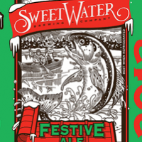 SweetWater Festive Ale 2013 label