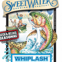 SweetWater Whiplash White IPA label