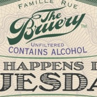 The Bruery So Happens It's Tuesday Bourbon Barrel Aged Imperial Stout