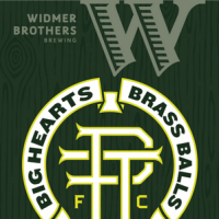 Widmer Brothers Brass Balls label