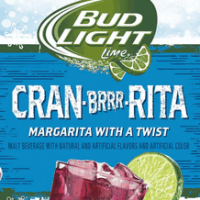 Bud Light Lime Cran Brrr Rita