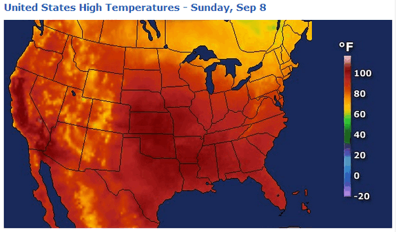 heat wave map 9 8 13