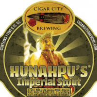 Cigar City Hunahpu's Imperial Stout label