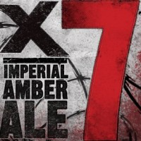 DuClaw X-7 Imperial Amber Ale label
