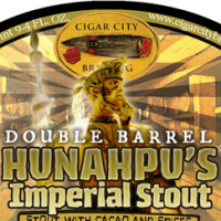 Cigar City Double Barrel Hunahpu's Imperial Stout