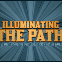 Cigar City Illuminating The Path Pinot Noir Wine Barrel-Aged Ale