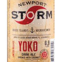 Newport Yoko Dark Ale label 2