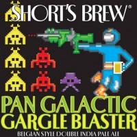 Short's Pan Galactic Gargle Blaster Belgian Double IPA label