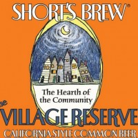 Short's The Village Reserve California Common Beer label