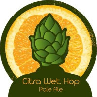 Silver City Citra Wet Hop Pale Ale label