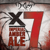 DuClaw X7 Imperial Amber Ale label