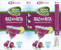 Bud Light Lime Raz-ber-Rita Margarita