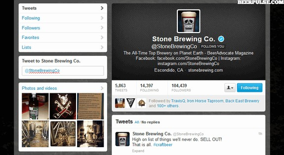 stone sell out screenshot twitter