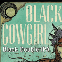 South County Black Cowgirl Black Double IPA
