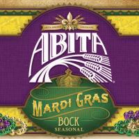 Abita Mardi Gras NEW 12 oz label FRONT