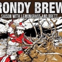 Anchorage Rondy Brew Saison label