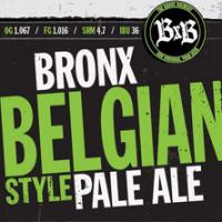 Bronx Belgian Pale Ale
