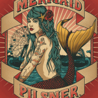 Coney Island Mermaid Pilsner label