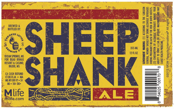 crooked letter brewery crooked letter sheep shank ale beerpulse 4746