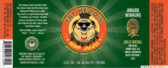 Fat Head's Hop Juju Imperial IPA