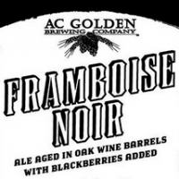 AC Golden Framboise Noir Wine Barrel Aged Ale