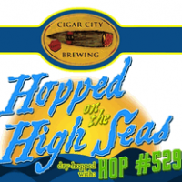 Cigar City Hopped on the High Seas Dry-Hopped with Hop #529