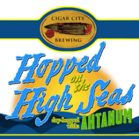 Cigar City Hopped on the High Seas IPA Dry Hopped with Ahtanum