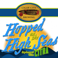Cigar City Hopped on the High Seas IPA Dry Hopped with Citra