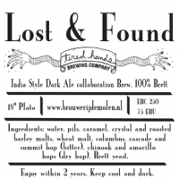 De Molen Lost and Found India Dark Ale with Brettanomyces