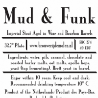 De Molen Mud and Funk Barrel-Aged Imperial Stout