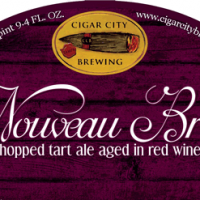 Cigar City Nouveau Bruin Dry-Hopped Tart Ale Aged in Red Wine Barrels