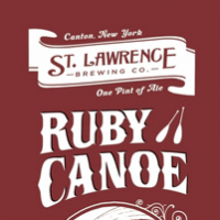 St. Lawrence Ruby Canoe North Country Bock