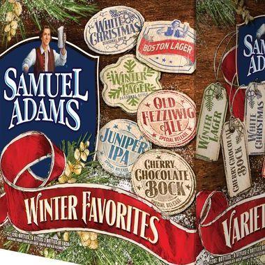 Samuel Adams Winter Favorites Variety Pack featuring new Juniper ...