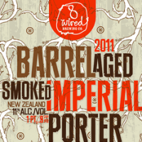 8 Wired Barrel Aged 2011 Smoked Imperial Porter