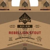 Summit Rebellion Stout label