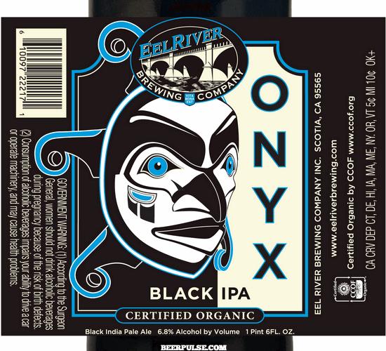 Eel River Onyx Black IPA