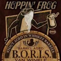 Hoppin' Frog Barrel Aged B.O.R.I.S. Van Winkle Stout