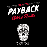 speakeasy payback coffee porter label