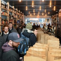 Goose Island Bourbon County Brand Barrel-Aged Beers Black Friday Launch Event - New York
