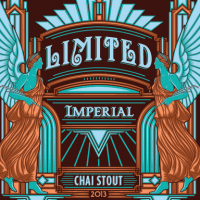 Angel City Imperial Chai Stout label