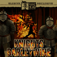Swamp Head Knights of the Barleywine aged in Cognac Barrels