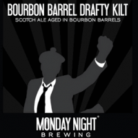 Monday Night Bourbon Barrel Aged Drafty Kilt Scotch Ale