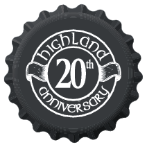 Highland 20th Anniversary logo