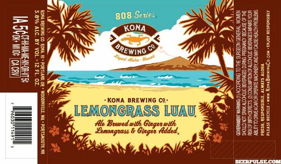 Kona Lemongrass Luau Ale