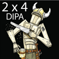 Melvin 2X4 DIPA label
