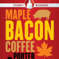 Funky Buddha Maple Bacon Coffee Porter label